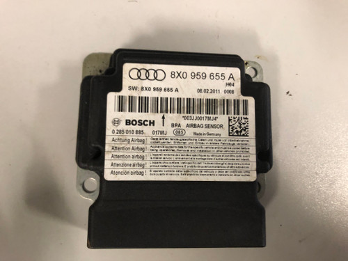 AUDI A1 USED SRS AIRBAG MODULE 8X0 959 655 A