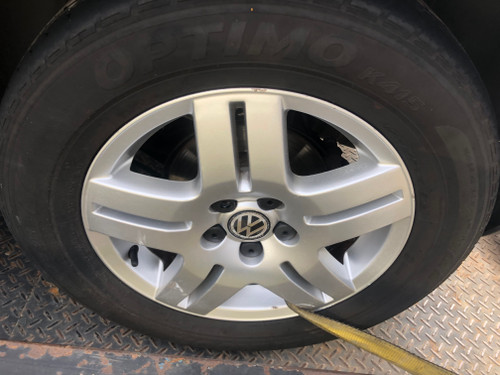 VW GOLF MK4 BEETLE USED 15 INCH GENERATION MAG WHEELS WITH TYRES