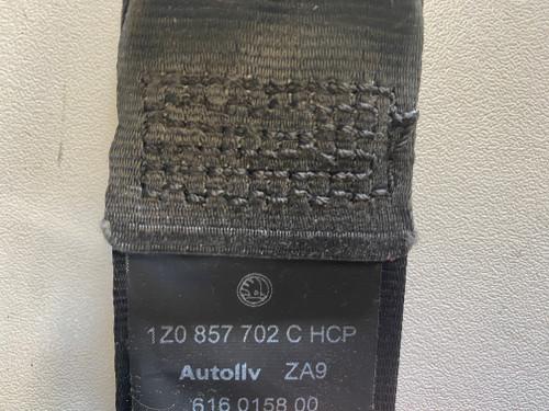SKODA OCTAVIA USED RH SEAT BELT 1Z0 857 702 C