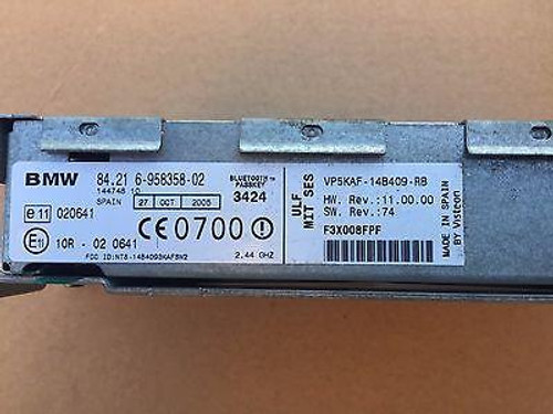 BMW X5 E53 BLUETOOTH MODULE - PART # 84 21 6-958358-02