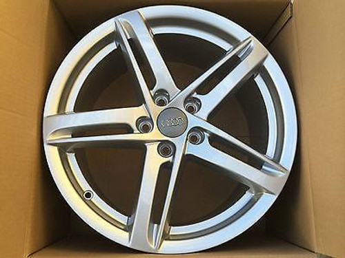 AUDI A4 S4 RS4 NEW GENUINE SINGLE MAG WHEEL 18 INCH 8K0 071 498 A