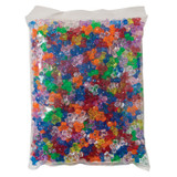 """Tri-Beads, Assorted Colors, 3/8"""", 1000 Pieces"""