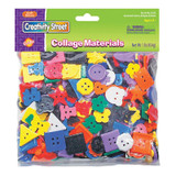 """Plastic Buttons, Assorted Colors, 3/4"""" to 1"""", 1 lb."""