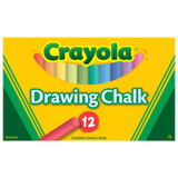 Crayola¬ Colored Drawing Chalk, 12 colors