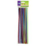 """Regular Stems, Assorted Colors, 12"""" x 4 mm, 100 Pieces"""