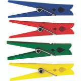 Plastic Clothespins, Pack of 40