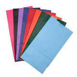 """Bright Assorted Bags, 6"""" x 3 1/2"""" x 11"""", 28 bags"""