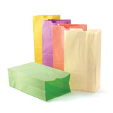 """Pastel Assorted Bags, 6"""" x 3 1/2"""" x 11"""", 28 bags"""