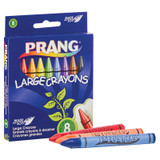 Soybean Crayons, Large, 8 Colors