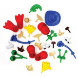 Modeling Dough & Clay Body Parts & Accessories, 26 Pieces