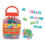 WonderFoam¨ Magnetic Letters with Consonant Blends, Assorted Colors & Sizes, 104 Pieces
