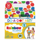 Rainbow Washable Markers, Pack of 4