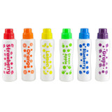 Scented Juicy Fruit Dot Markers, Pack of 6