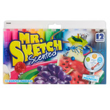 Mr. Sketch¨ Scented Markers, Chisel Tip, Assorted Colors, Pack of 12