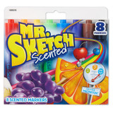 Mr. Sketch¨ Scented Markers, Chisel Tip, Assorted Colors, Pack of 8