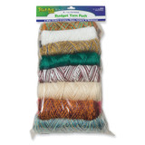 Budget Yarn Pack, Assorted Colors, 16 oz., 16 Skeins