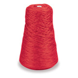 4-Ply Double Weight Rug Yarn Refill Cone, Red, 8 oz., 315 Yards