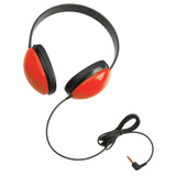 Listening First» Stereo Headphones, Red