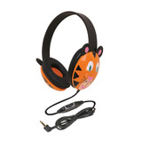 Listening First Animal-themed Stereo Headphones, Tiger
