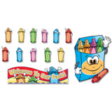 Welcome to Our Pack Crayons Bulletin Board Set