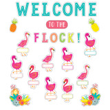 Simply Stylish Tropical Welcome to the Flock Bulletin Board Set