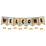 Travel the Map Pennants Welcome Bulletin Board Set
