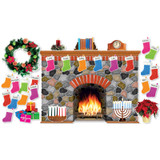 Holiday Hearth Bulletin Board Set by Scholastic