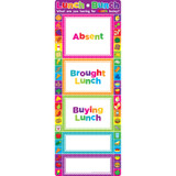 Smart Poly¬ Clip Chart, Lunch Bunch