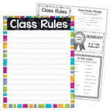 """Class Rules Color Harmonyª Learning Chart, 17"""" x 22"""""""