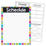 """Schedule Color Harmonyª Learning Chart, 17"""" x 22"""""""