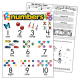 """Numbers Learning Chart, 17"""" x 22"""""""