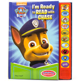 I'm Ready to Read Book PAW Patrol with Chase