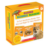 Guided Science Reader, Levels D, Parent Pack, Pack of 16 Books