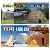 American Indian Homes Book Set, Set of 6