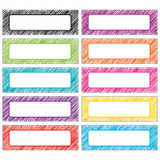 Scribble Labels Magnetic Accents