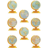 Travel The Map Globes Accents, Pack of 30