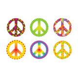 Peace Signs Patterns Classic Accents¨ Variety Pack, 36 ct