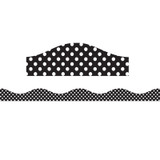 Big Magnetic Magi-Strips, Black and White Dots, 12'