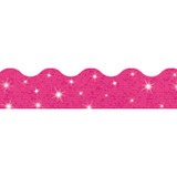 Hot Pink Sparkle Terrific Trimmers¨, 32.5 ft