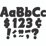 """Black Funtastic 4"""" Letters Combo Pack"""