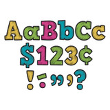 """Chalkboard Brights Bold Block 4"""" Letters Combo Pack"""