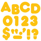 """Gold 2"""" Casual Uppercase Ready Letters¨"""
