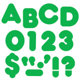 """Green 3"""" Casual Uppercase Ready Letters¨"""