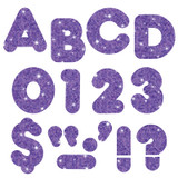 """Purple Sparkle 3"""" Casual UC Ready Letters¨"""
