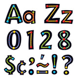 Alpha-Beads 4-Inch Playful Uppercase/Lowercase Combo Pack (EN/SP) Ready Letters¨