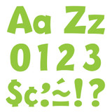 Lime 4-Inch Playful Uppercase/Lowercase Combo Pack (EN/SP) Ready Letters¨