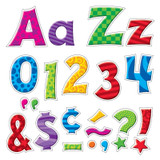 Patchwork Furry Friends¨ 4-Inch Friendly Uppercase/Lowercase Combo Pack (EN/SP) Ready Letters¨
