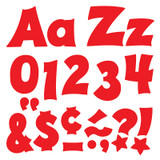 Red 4-Inch Friendly Uppercase/Lowercase Combo Pack (EN/SP) Ready Letters¨