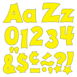 Yellow 4-Inch Friendly Uppercase/Lowercase Combo Pack (EN/SP) Ready Letters¨