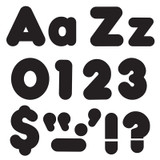 Black 4-Inch Casual Uppercase/Lowercase Combo Pack Ready Letters¨